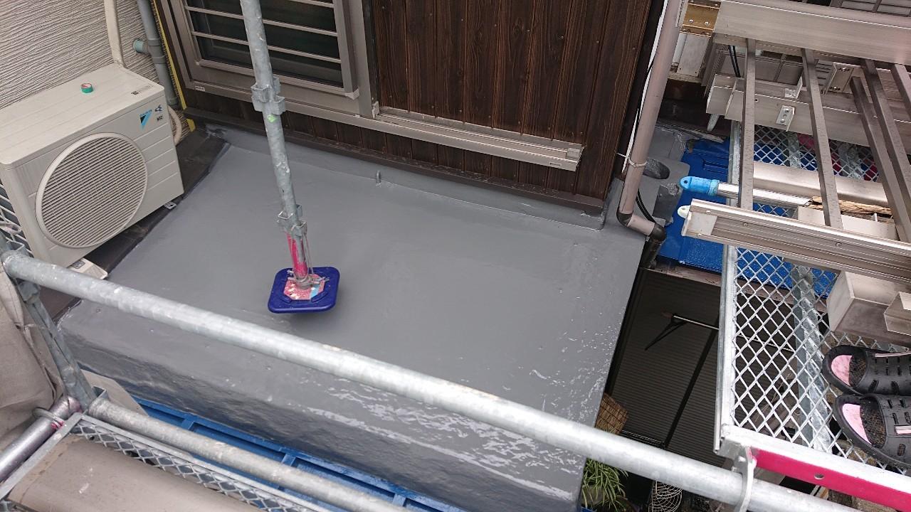 加古郡稲美町で雨漏り修理完了の様子