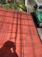 工事前のトタン屋根