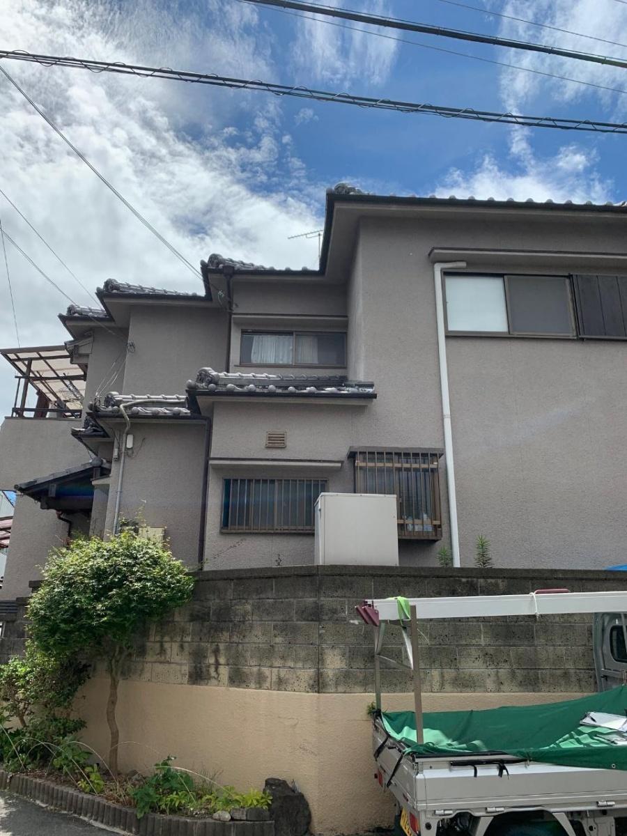 三田市のころり被害にあっていたお家の様子