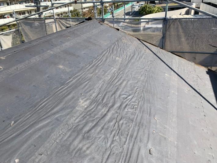 撤去後の屋根の様子