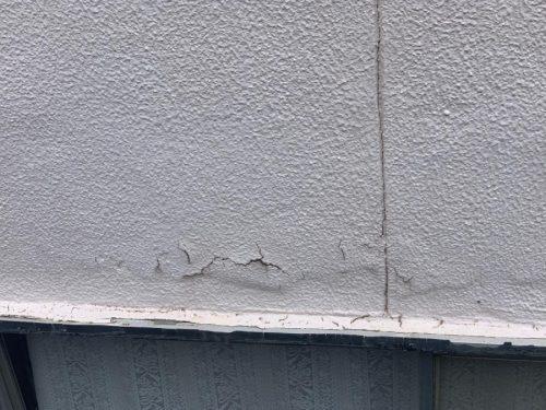 外壁の塗膜の割れ・はがれ
