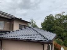 葺き替えした屋根の写真