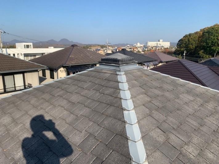 既存の屋根全体の様子