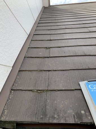 浮きのないスレート屋根の状態