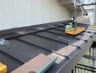 工事完了後のベランダ屋根の様子