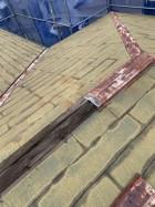 既存の屋根の様子
