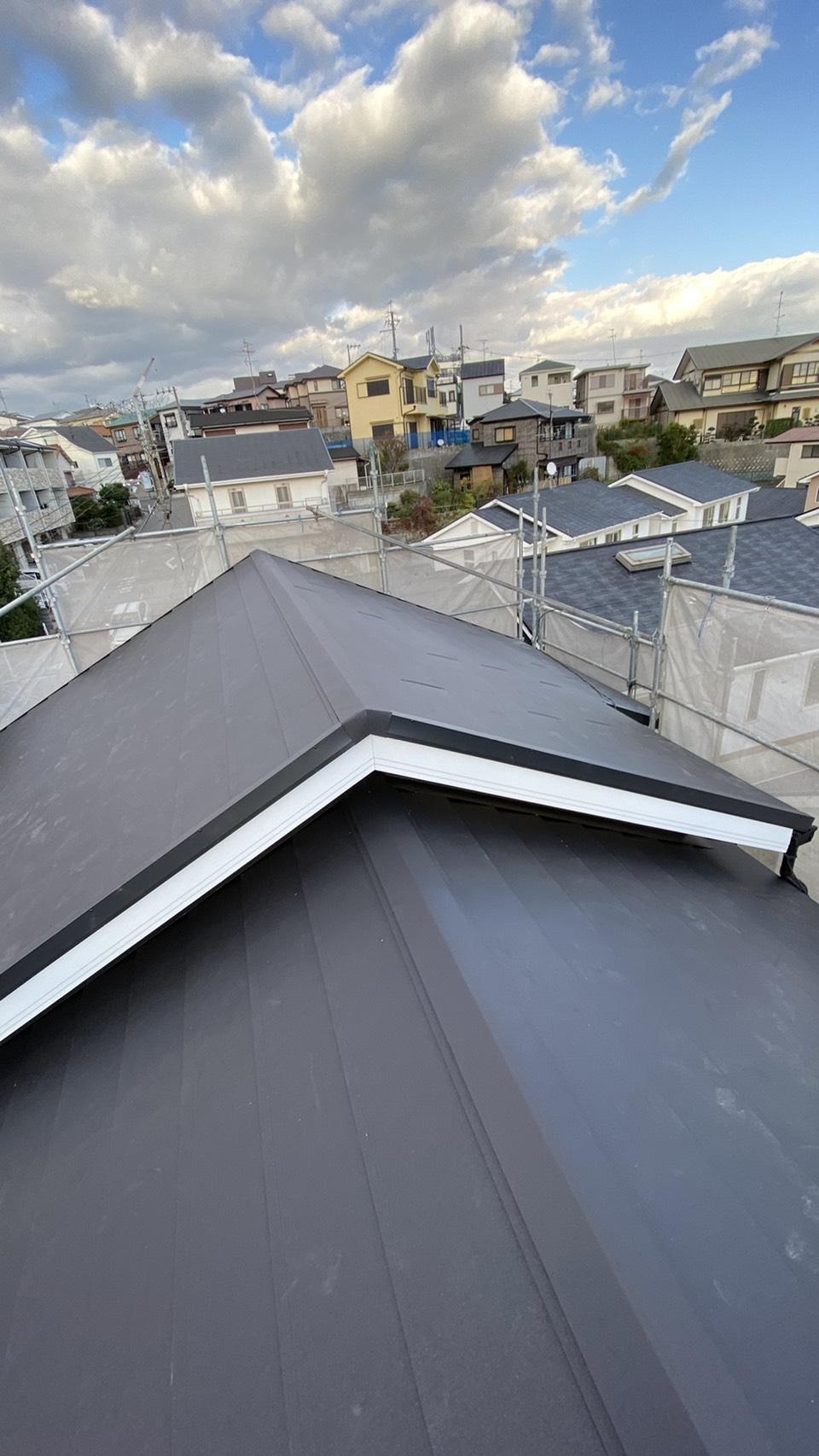 神戸市で火災保険を使用して新しくした屋根