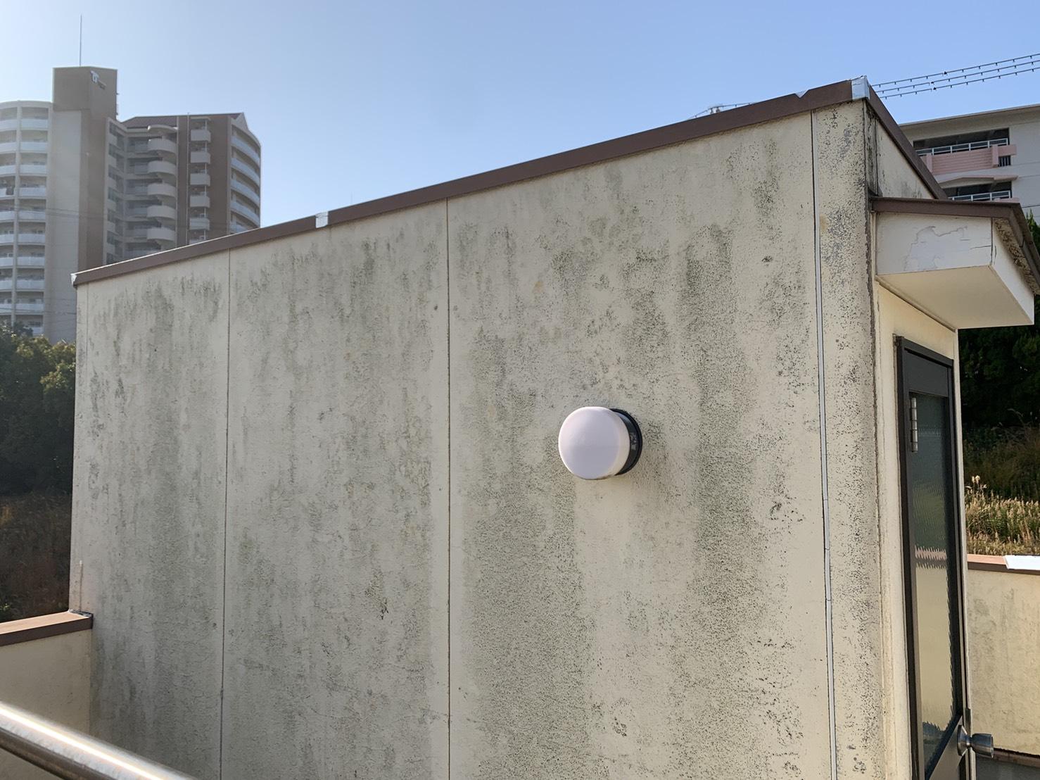 神戸市垂水区での外壁塗装前の様子