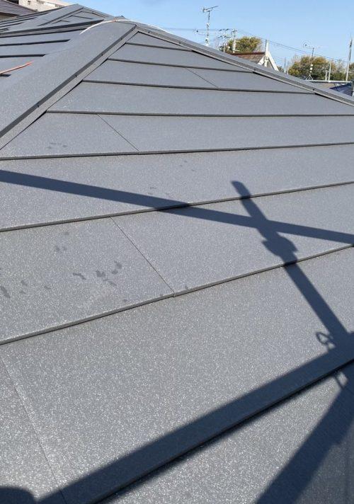 ガルテクトを施工した屋根