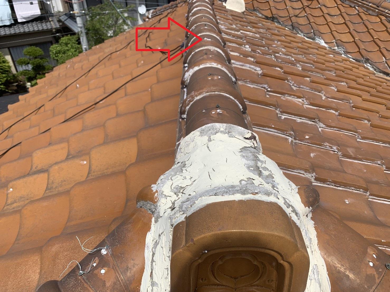 神戸市西区での瓦屋根調査で棟瓦を考察