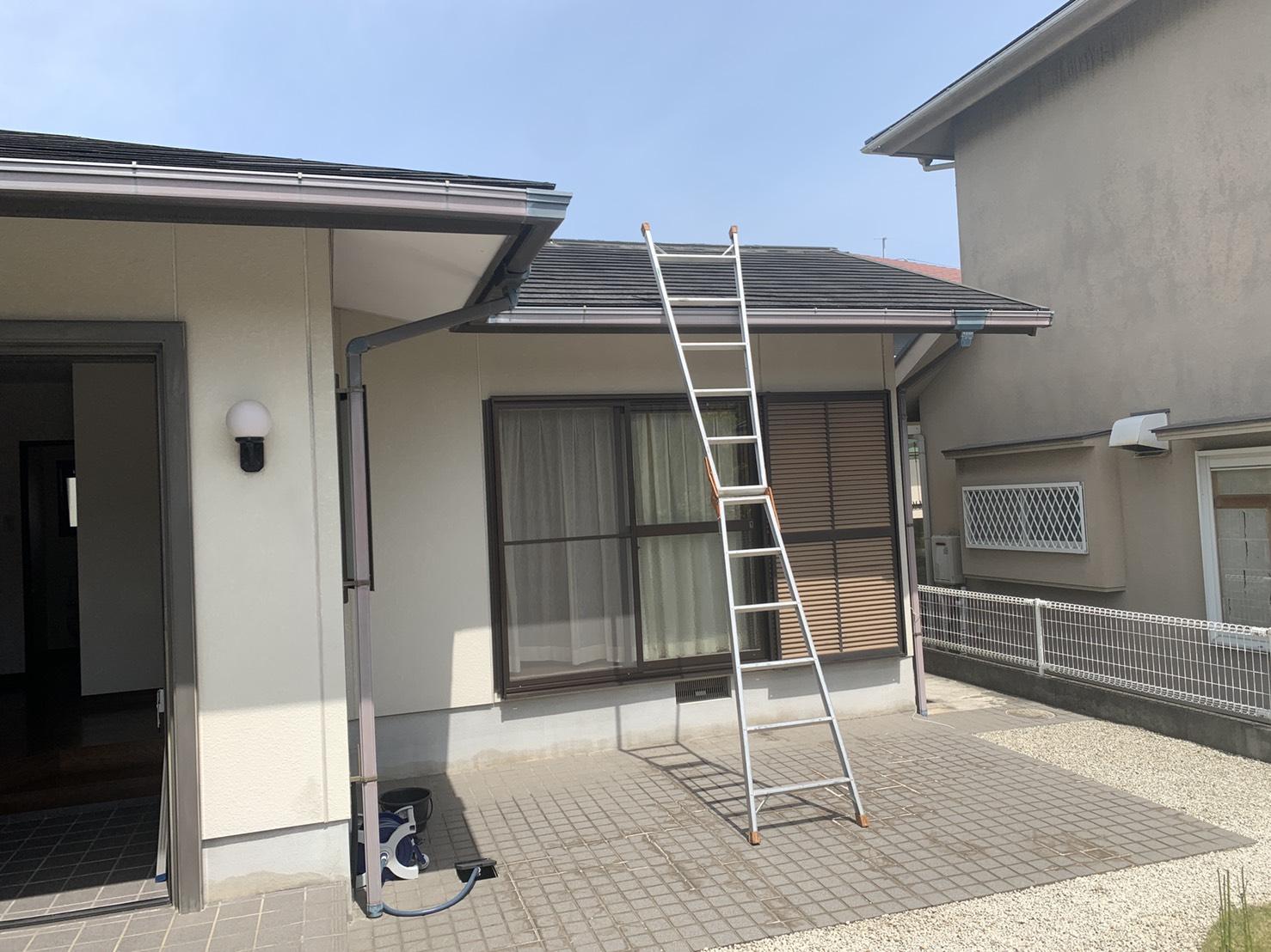三田市でスレート屋根の調査を行った平屋建てのお家