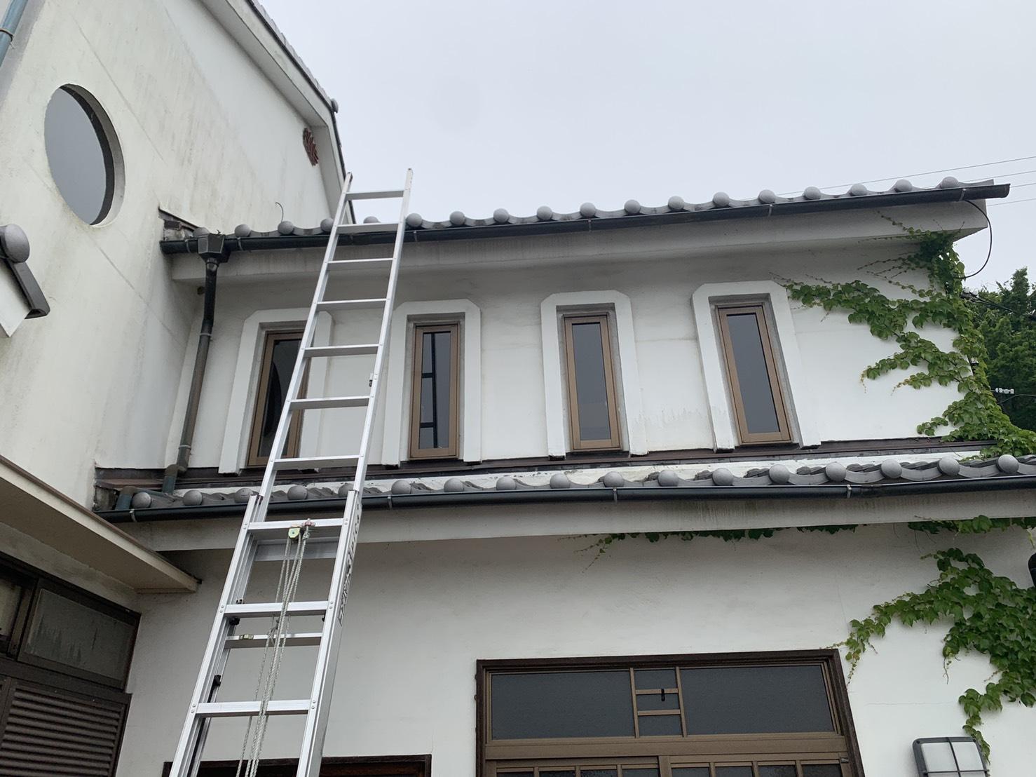 神戸市中央区で雨漏り調査を行ったお家の様子