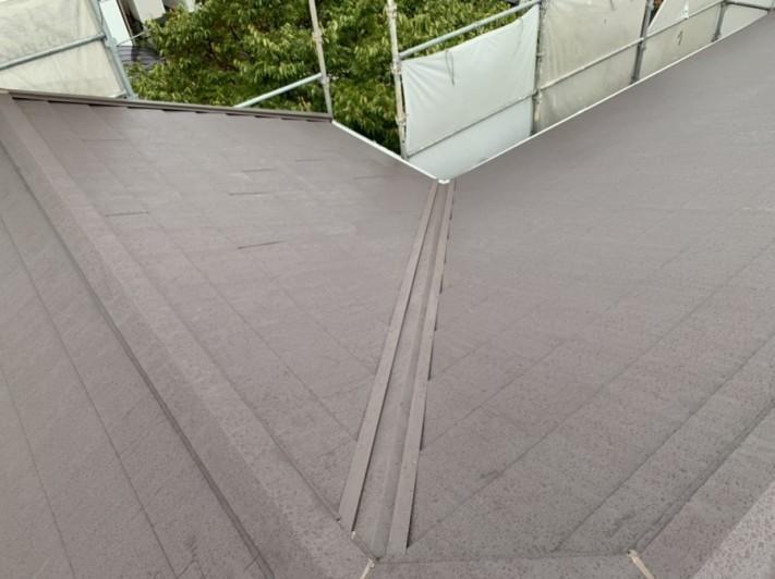 屋根仕上がりの様子
