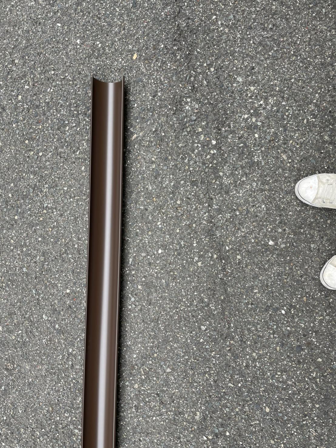 神戸市須磨区で行った雨樋修理で使用した材料