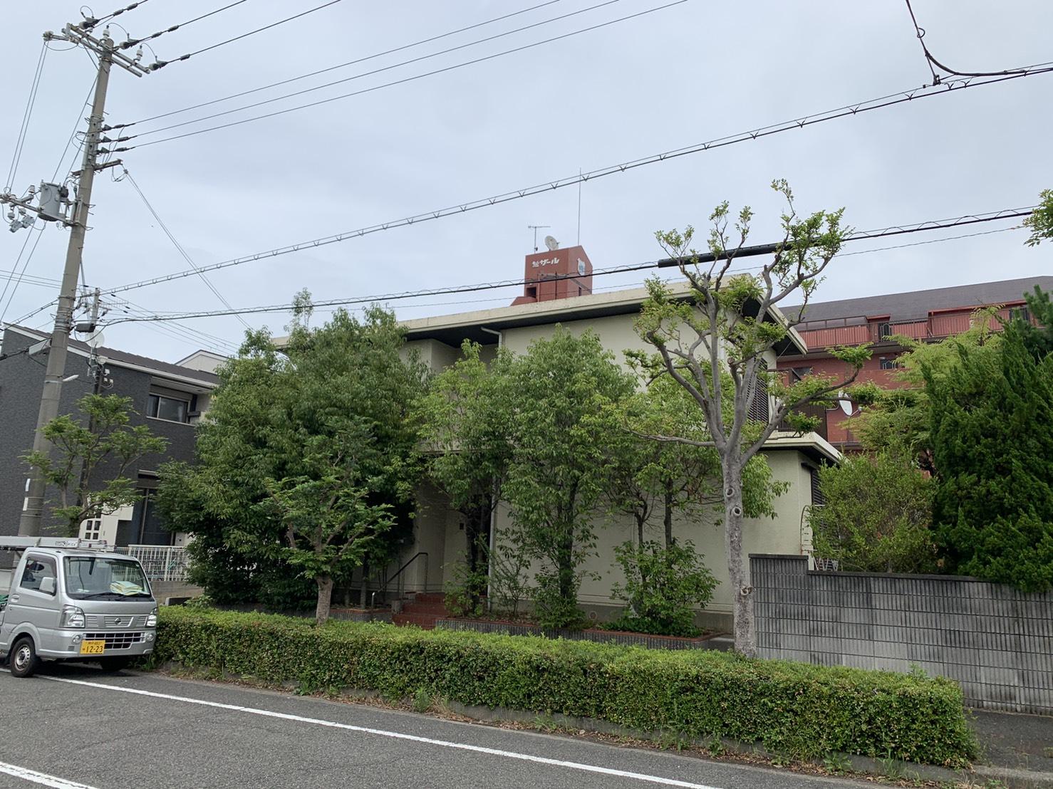 三木市で屋上からの雨漏り調査を行ったお家の様子