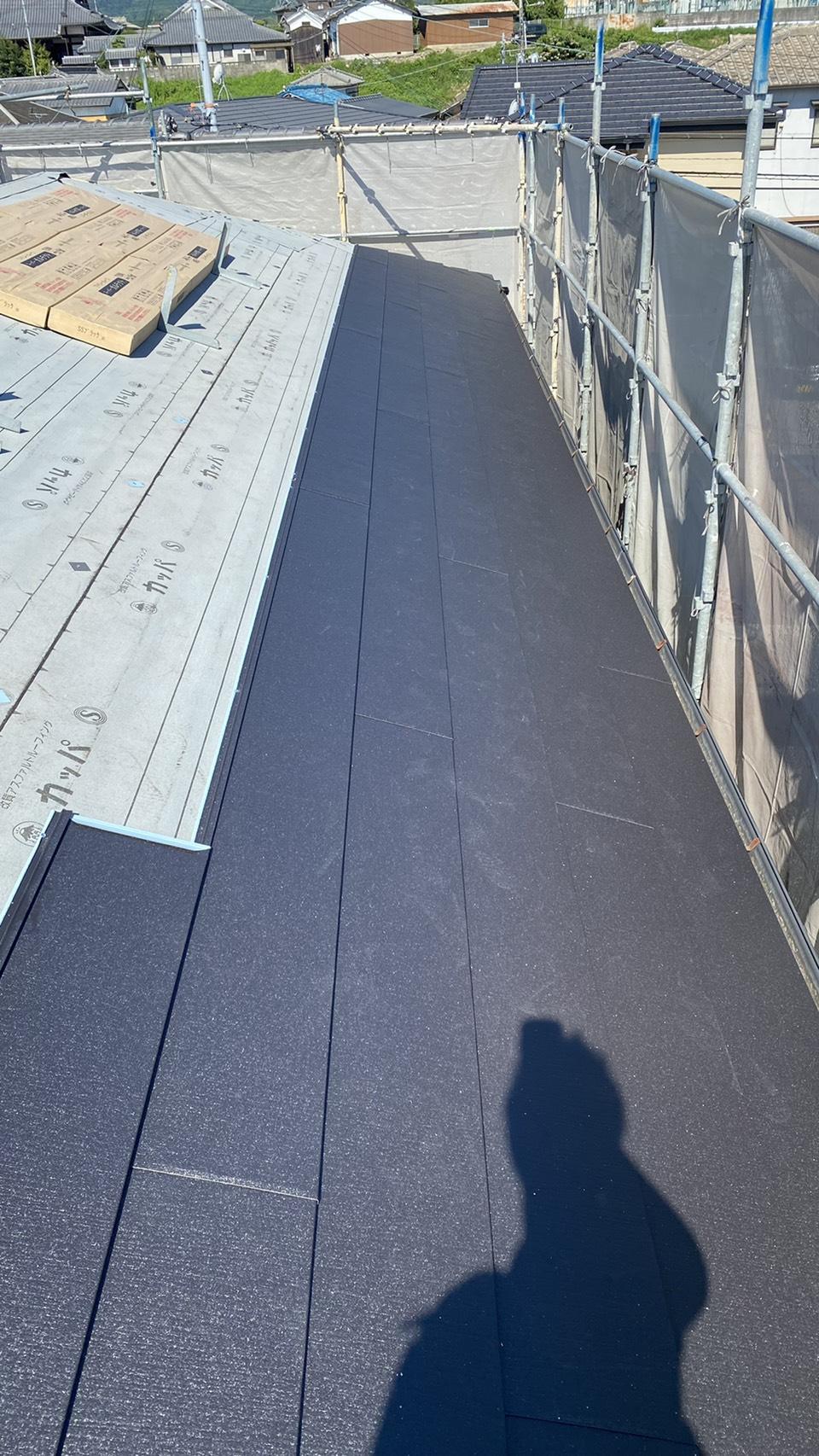 三木市でのリフォームで使用した屋根材
