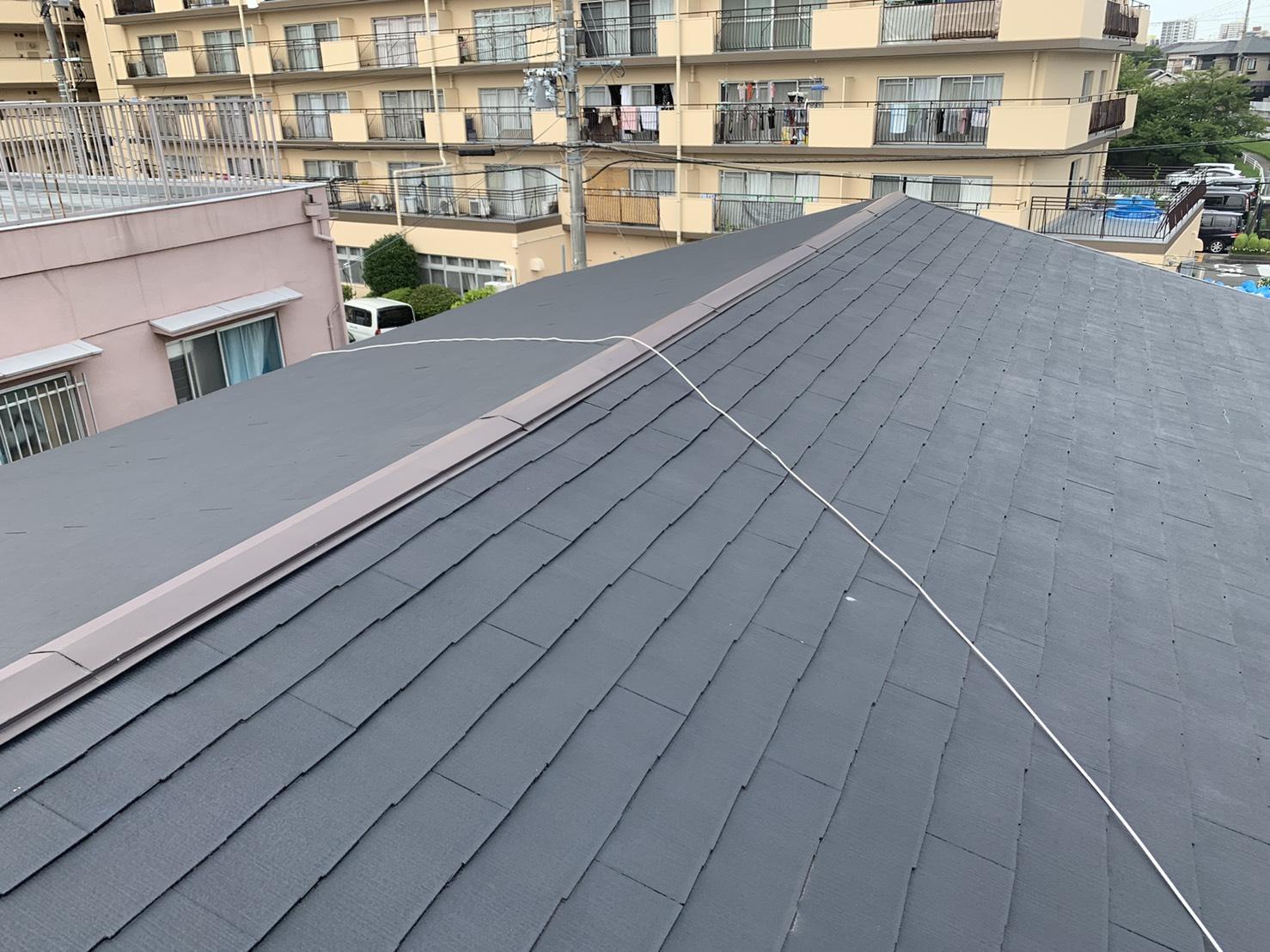 加古川市で雨漏りしているスレート屋根