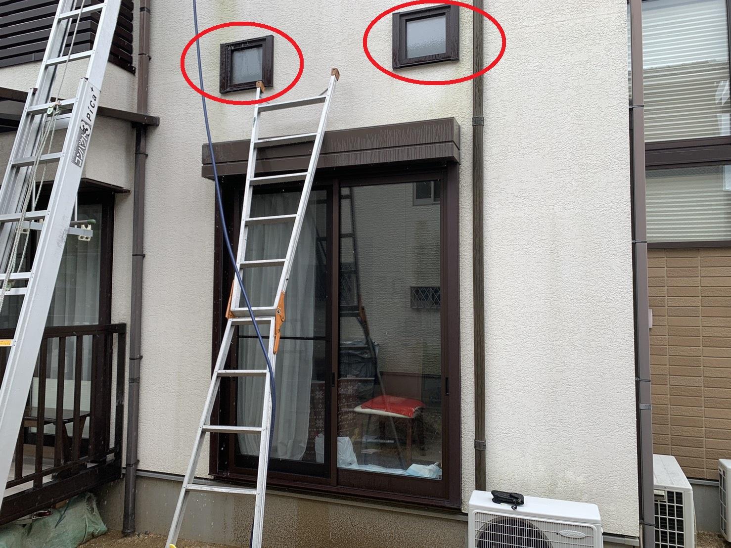 加古郡播磨町での雨漏りの原因らしき場所