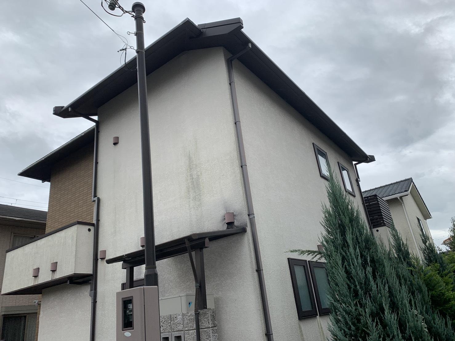 加古郡播磨町で雨漏り調査を行ったお家の様子