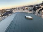 神戸市垂水区で金属屋根葺きをした完工後の様子