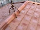 淡路市屋根葺き替え工事後の屋根の様子