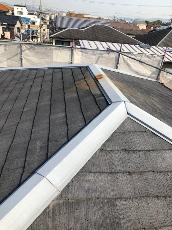 施工前築30年のスレート屋根