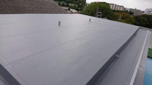 防水工事後の屋上