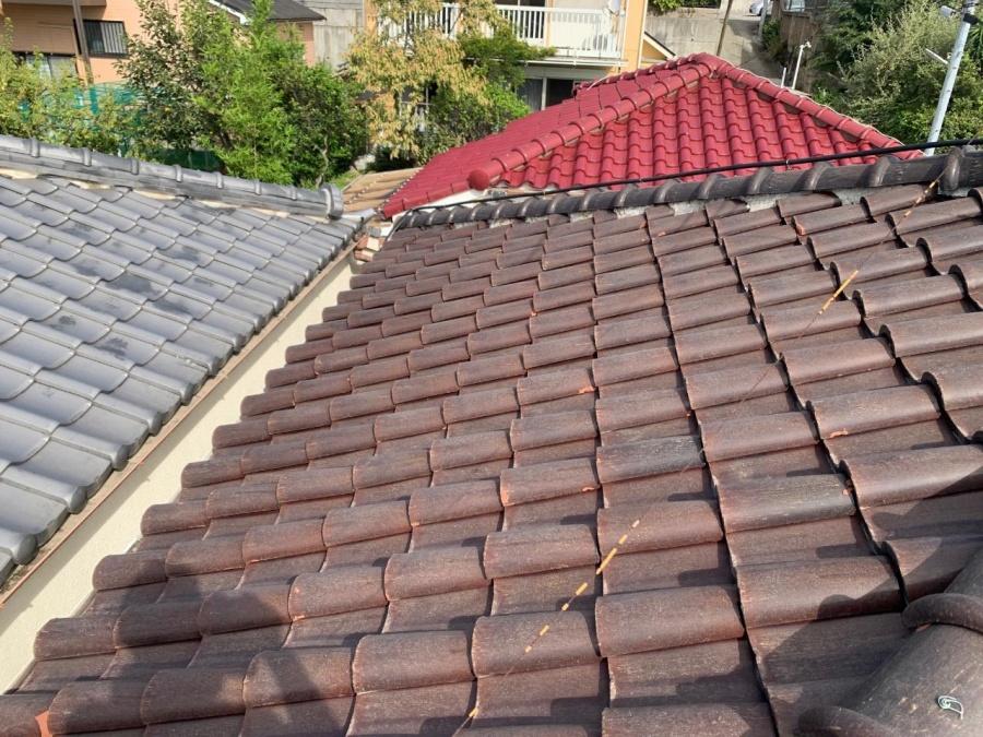 S瓦屋根の全体の様子