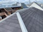 屋根カバー工事前のスレート屋根の様子